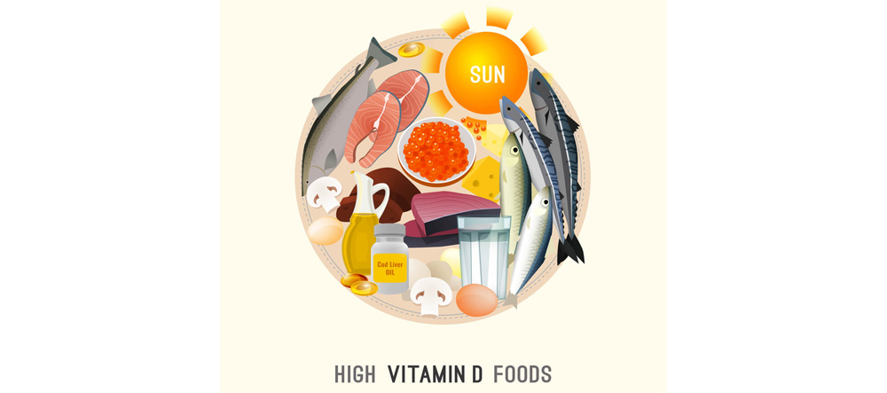 Healthy Living at Home vitamin D