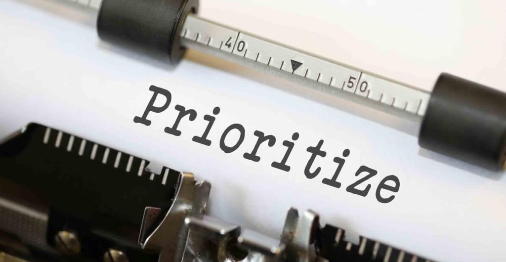 Prioritize Your Work