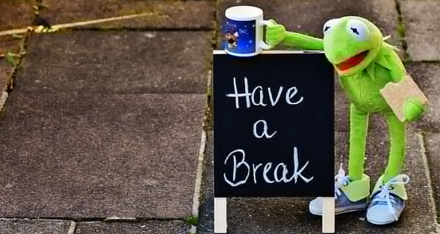 Take a Break for a Short Time