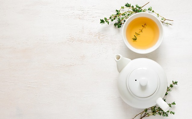 Green Tea Boosting Immune System with Food