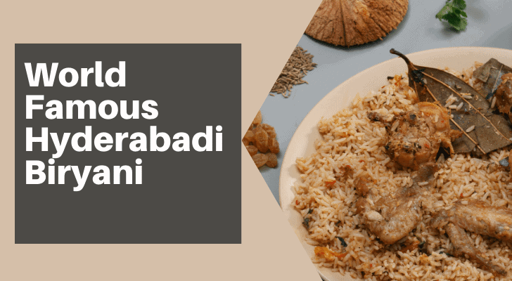 World Famous Hyderabadi Biryani