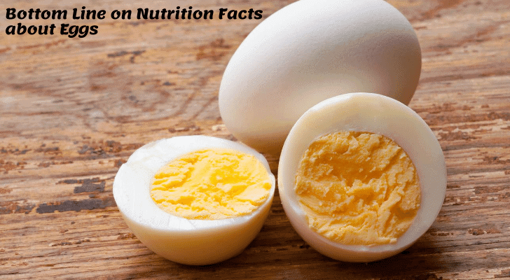 Bottom Line on Nutrition Facts about Eggs
