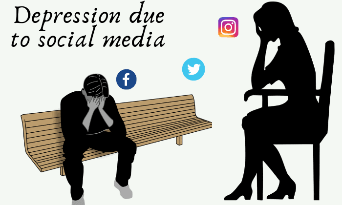 Depression due to social media