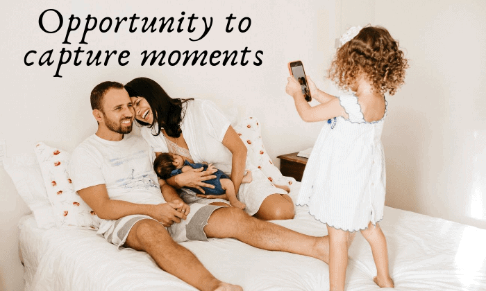 Opportunity to Capture Moments