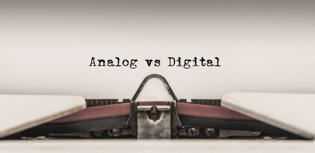 Separate Your Digital And Analog Life